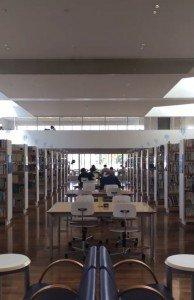 Inside Yachiyo Regional Library