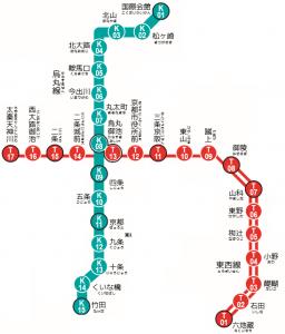 京都地下鉄①
