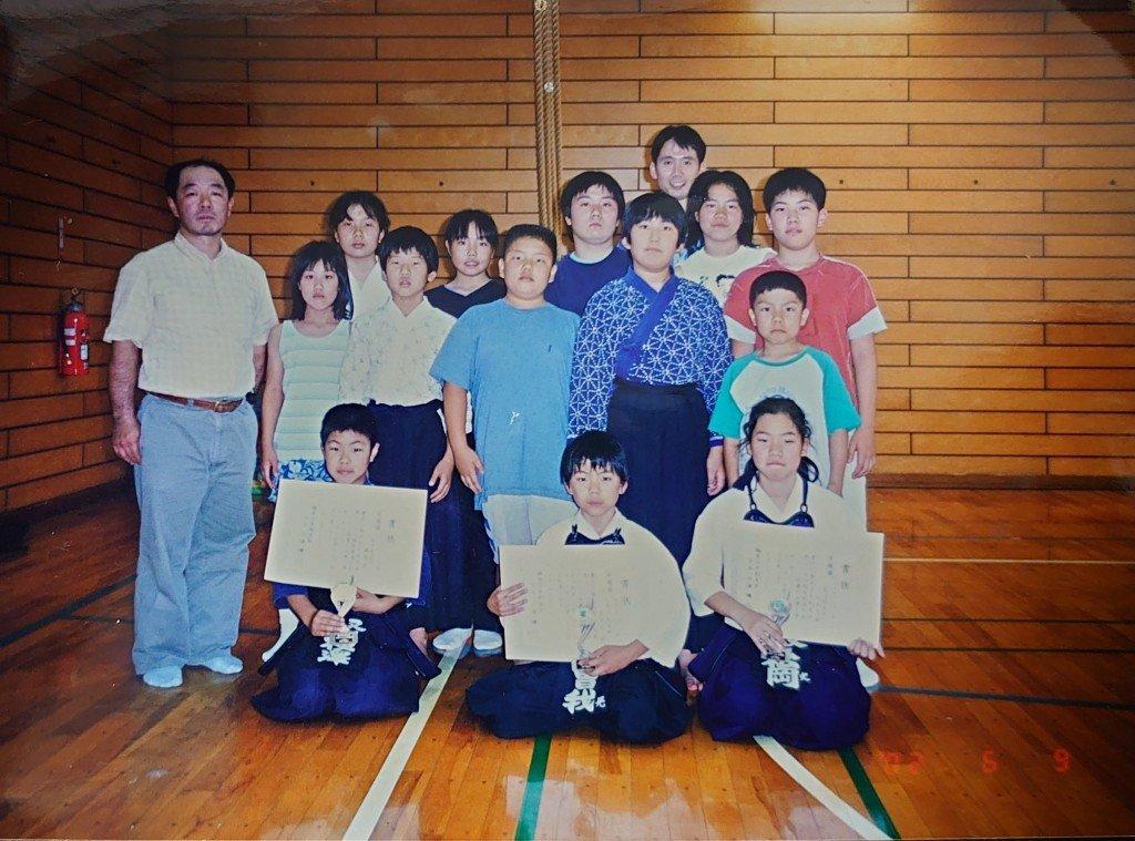 ①小学生の時の写真です。