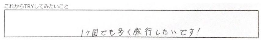 トライしたいこと_横澤