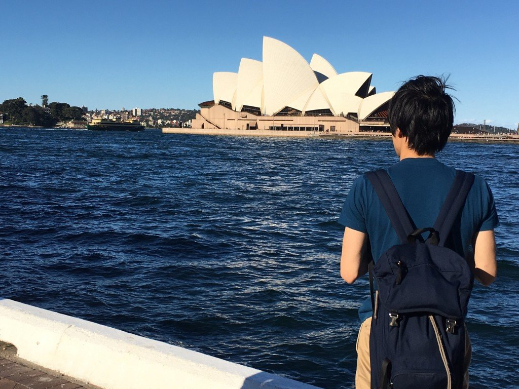 シドニーに旅行も行きました!住むのはブリスベンの方が良かったかな?