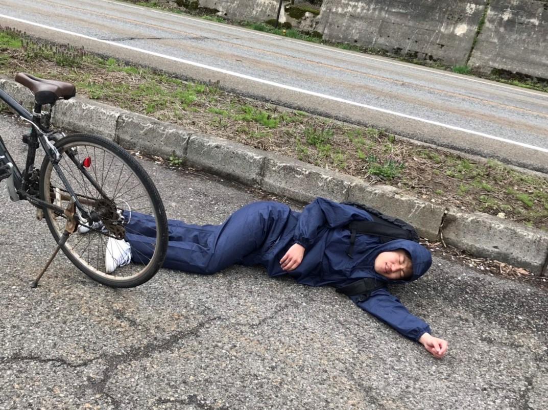 オークハウス入る前に景気づけに新潟から栃木に自転車で行こうとして途中で朽ちた瞬間
