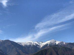 深呼吸したくなる山