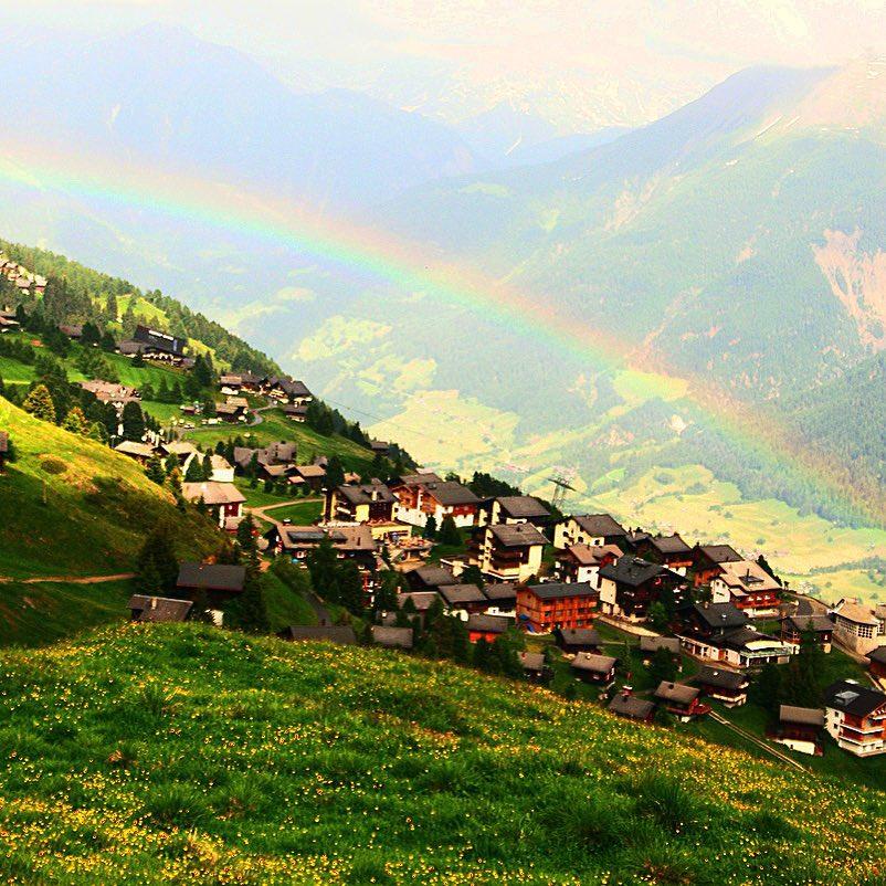 虹が下に2