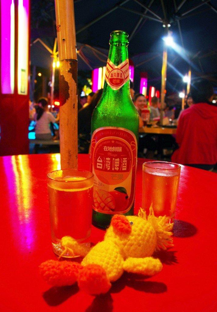 マンゴービール瓶