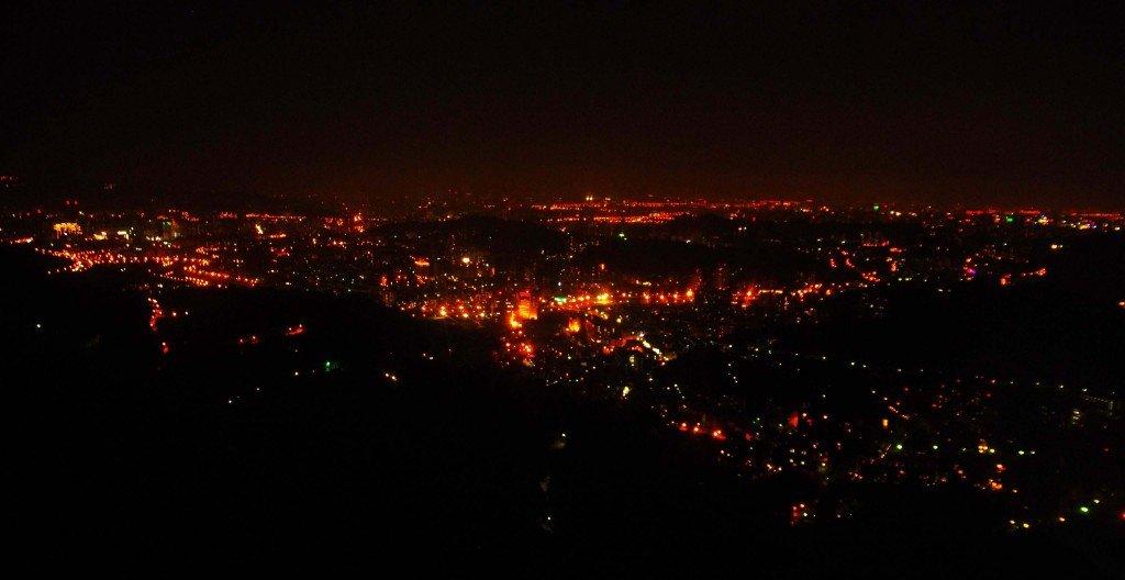 ロープウェイ夜景3