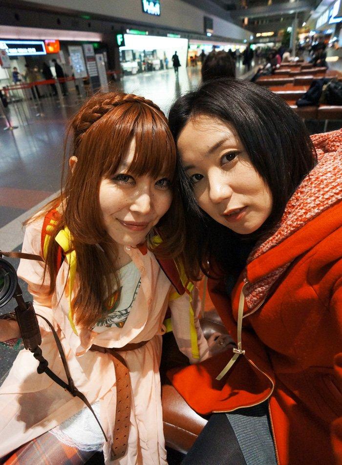 ゆづとま@羽田空港700