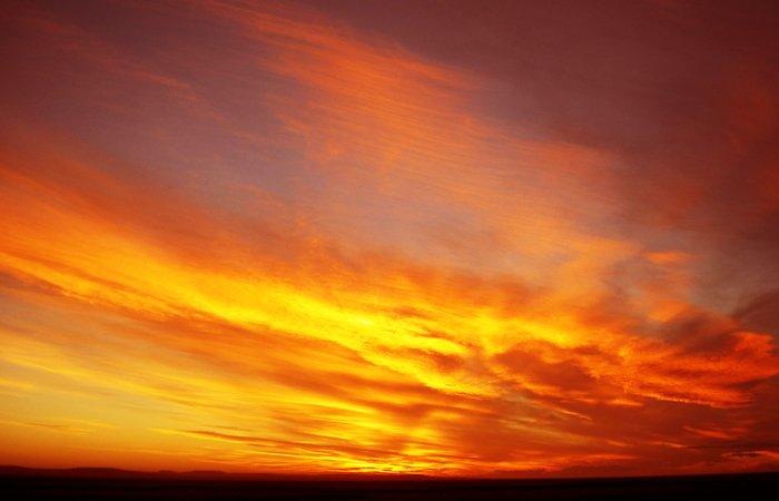 パタゴニアの夕焼け2700