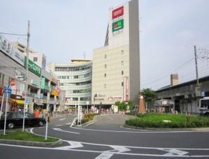 下総中山駅北口