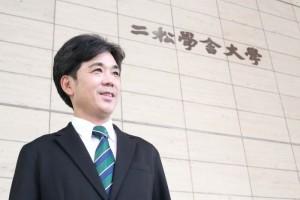 国際交流センターの斉田氏