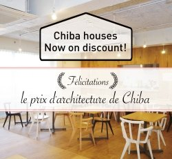 Chiba houses Now on discount!