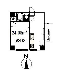 guesthouse sharehouse SHINJUKU OLYMPIC APARTMENT floorplan1