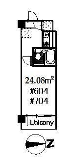 guesthouse sharehouse Grand Maison歌舞伎町 floorplan1