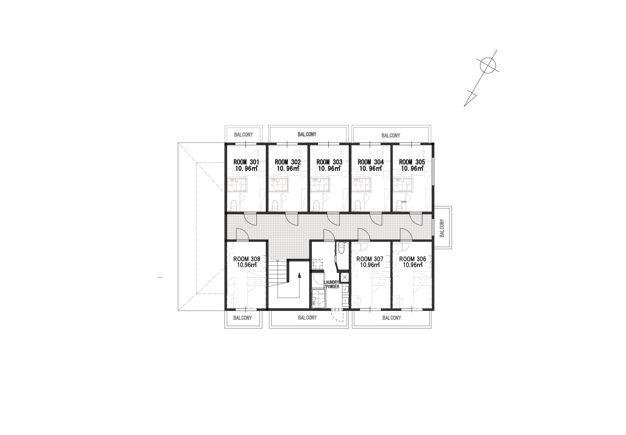 guesthouse sharehouse GRAN讀賣樂園前 floorplan3