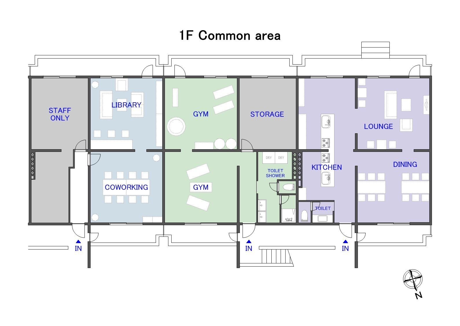 guesthouse sharehouse ガーデンタウン板橋中台 floorplan3