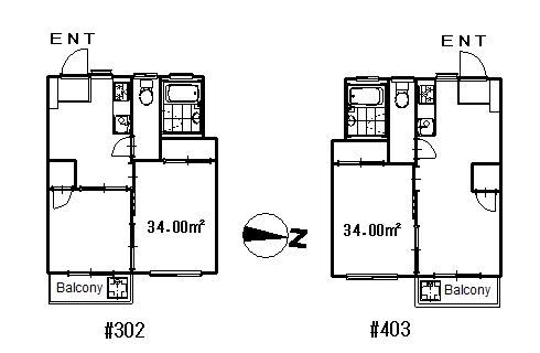 guesthouse sharehouse OIZUMI CHUO APARTMENT floorplan1