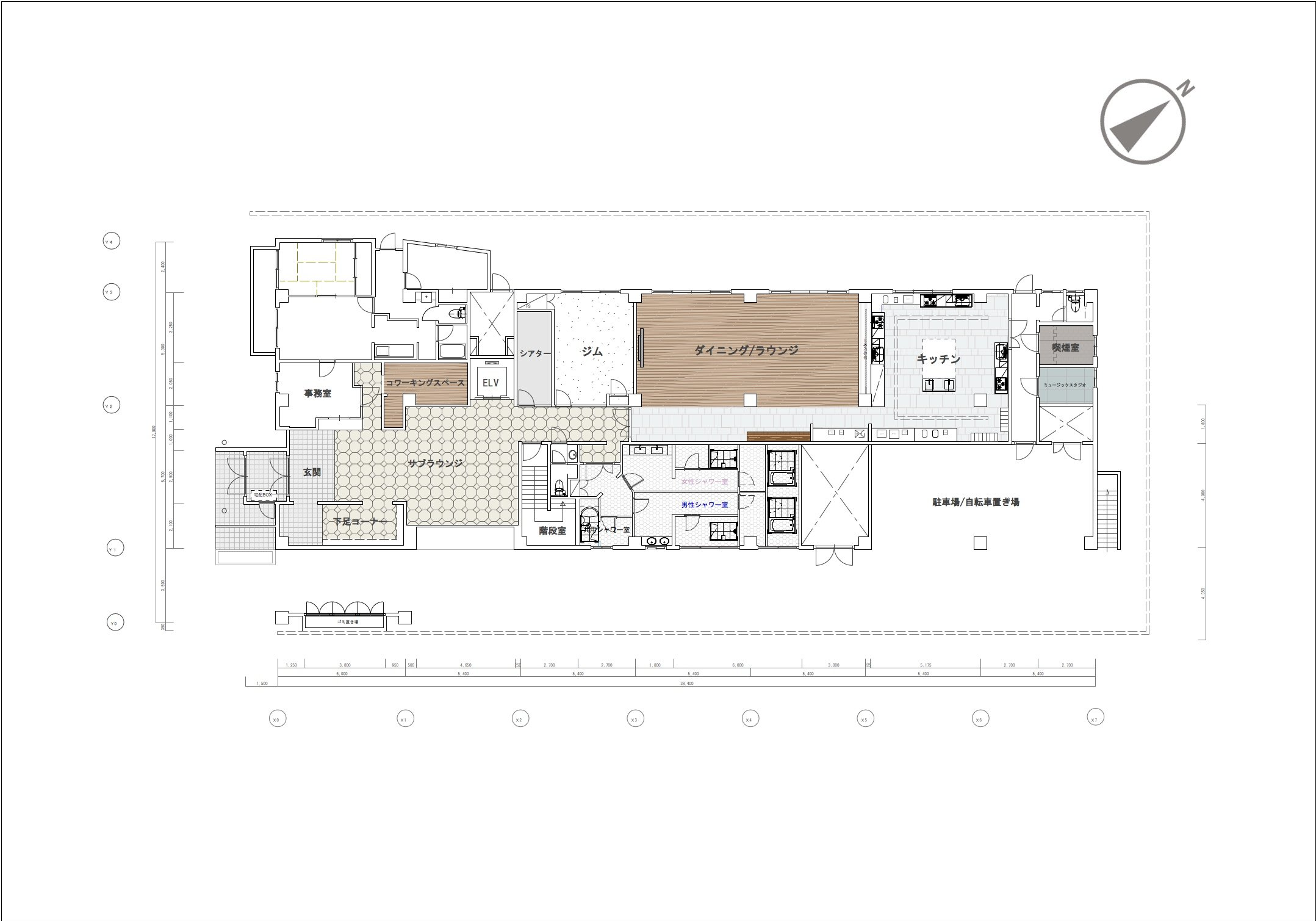 guesthouse sharehouse グラン登戸 floorplan1