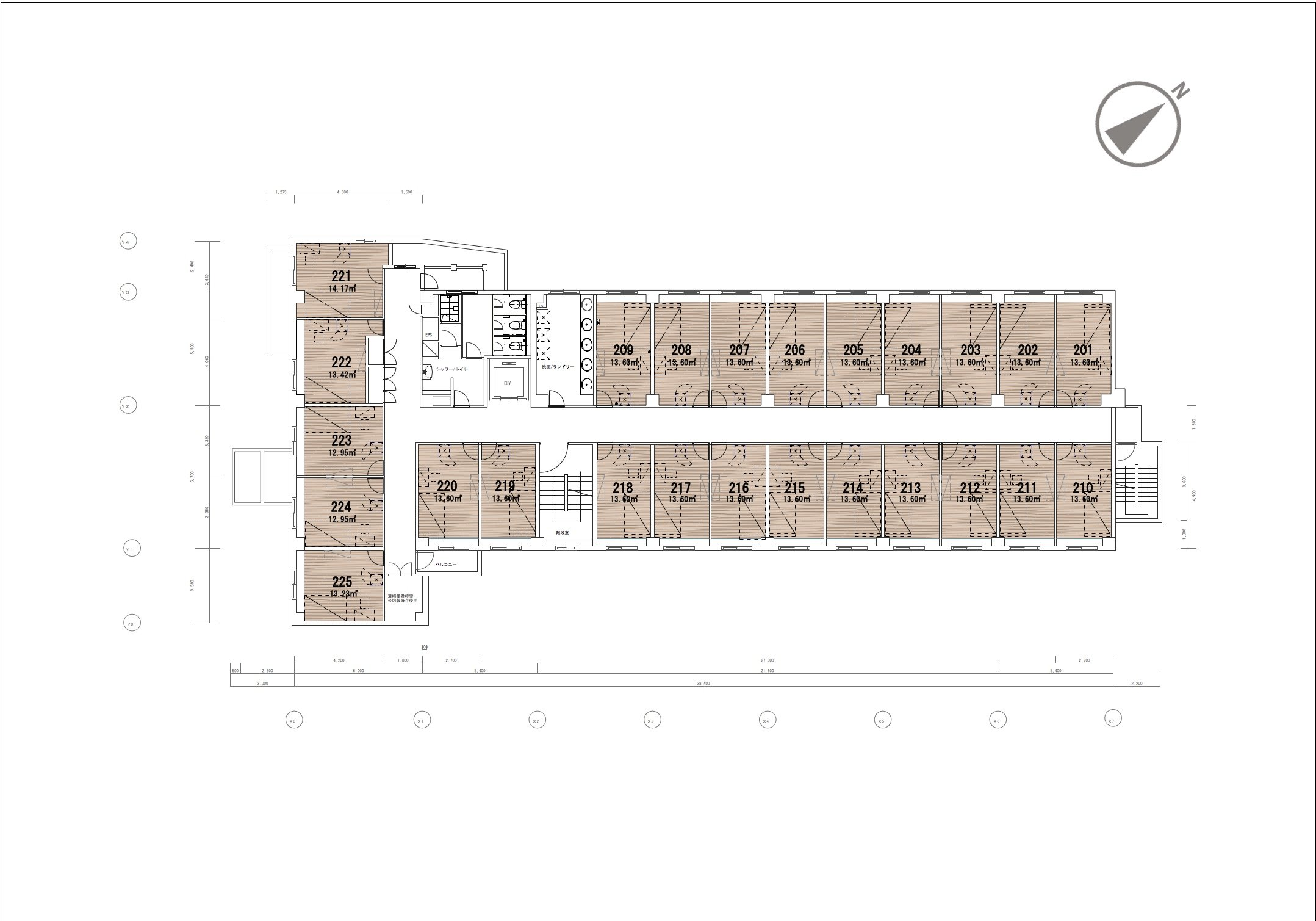 guesthouse sharehouse グラン登戸 floorplan2