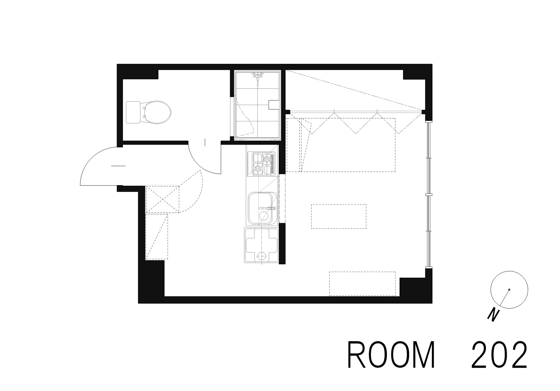guesthouse sharehouse OAK APARTMENT AZABU JUBAN floorplan2