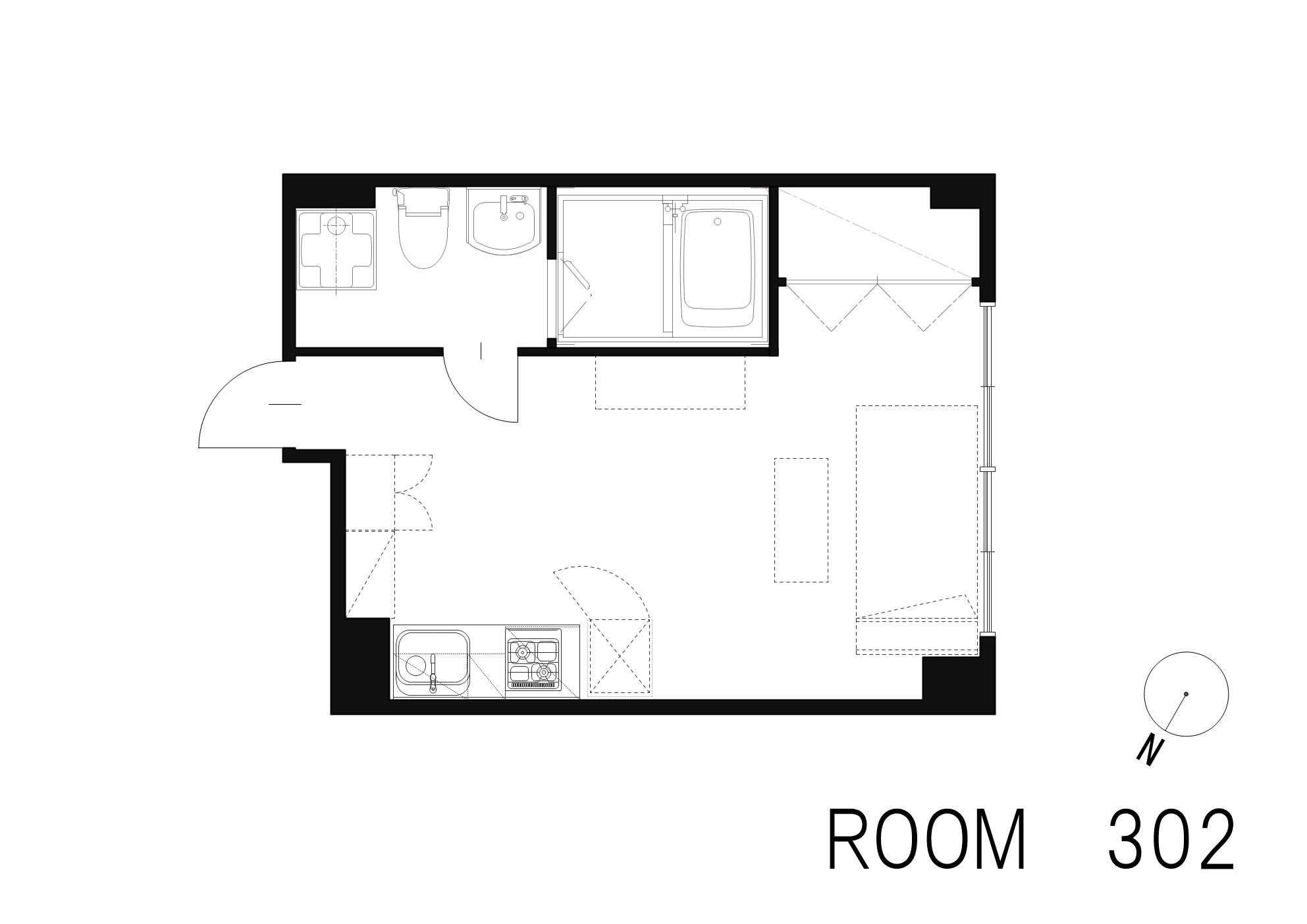 guesthouse sharehouse OAK APARTMENT AZABU JUBAN floorplan4