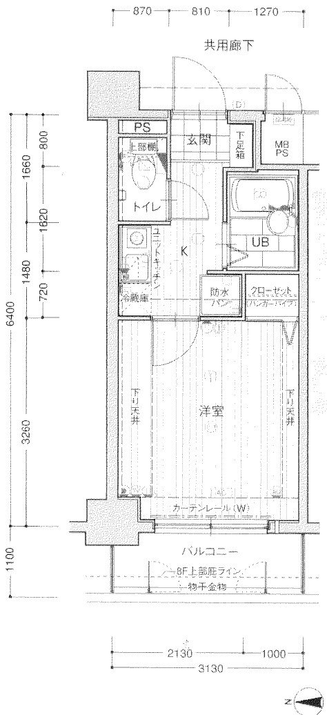 guesthouse sharehouse エスリード梅田東 floorplan1