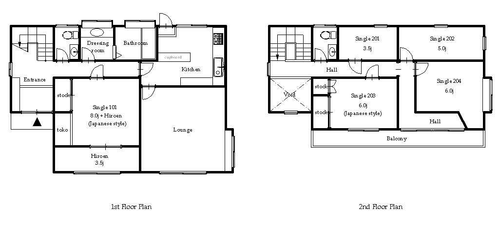 guesthouse sharehouse GUEST HOUSE JUJO floorplan1