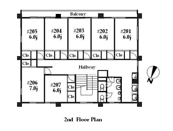 guesthouse sharehouse シェアスタイル青葉台 floorplan2