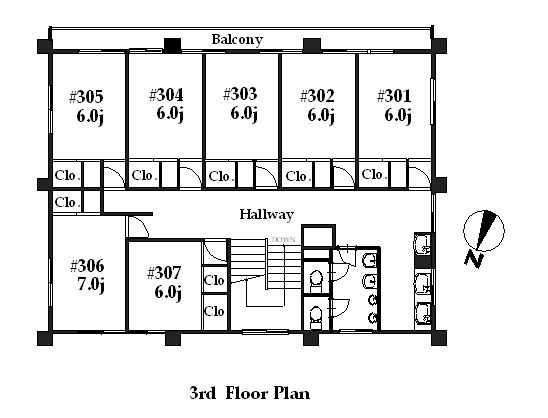 guesthouse sharehouse シェアスタイル青葉台 floorplan3
