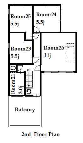 guesthouse sharehouse オークハウス池袋 floorplan2