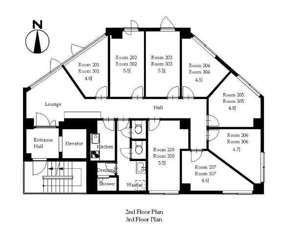 guesthouse sharehouse Premiere練馬中村橋 floorplan1