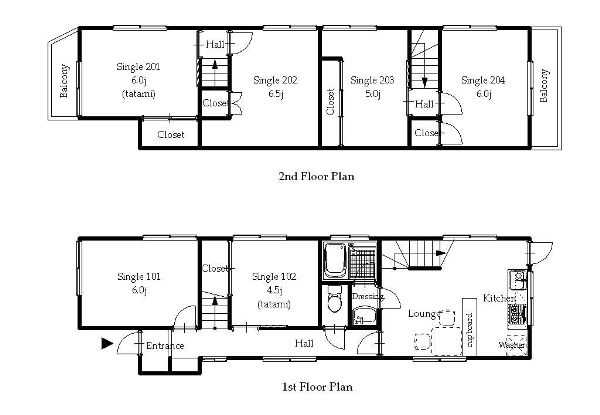 guesthouse sharehouse オークハウス北大塚2 floorplan1