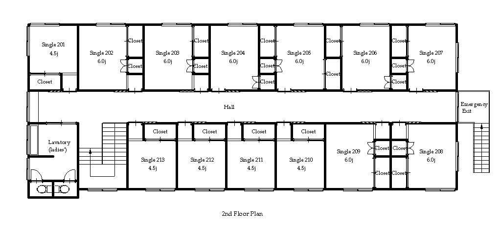 guesthouse sharehouse OAKHOUSE MOTOSUMIYOSHI NEO floorplan2
