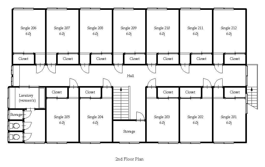 guesthouse sharehouse オークハウス元住吉ANNEX floorplan2