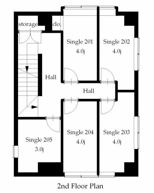 guesthouse sharehouse 프리미어 히가시쥬조 floorplan2