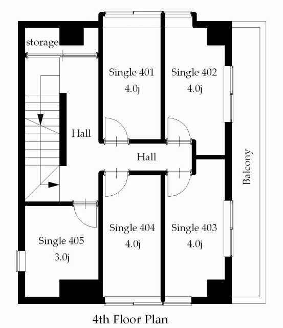 guesthouse sharehouse 프리미어 히가시쥬조 floorplan4