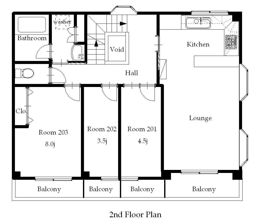guesthouse sharehouse プレミア高円寺 floorplan2