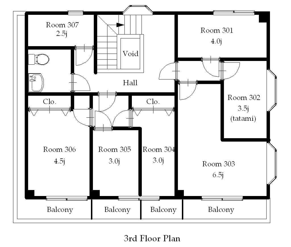 guesthouse sharehouse プレミア高円寺 floorplan3