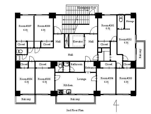 guesthouse sharehouse PREMIERE KIBA floorplan3