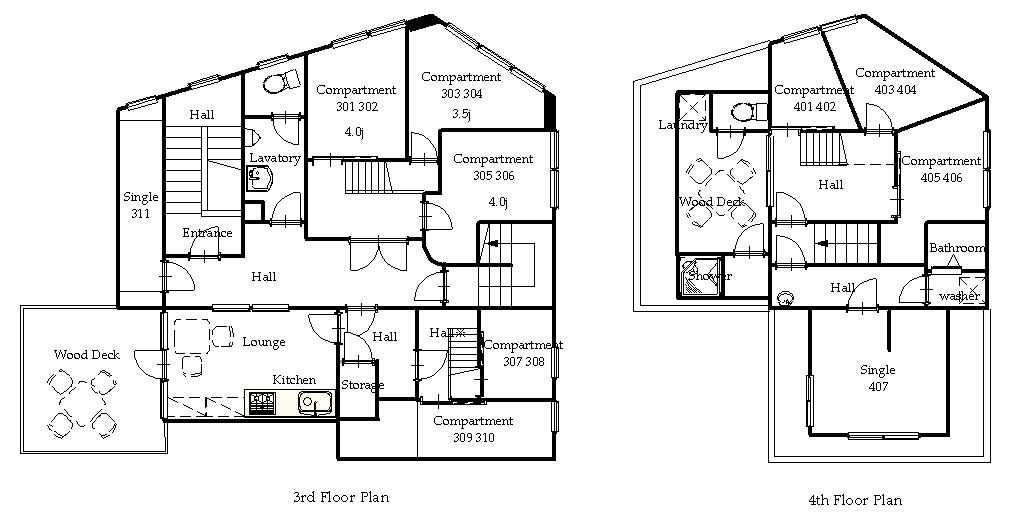 guesthouse sharehouse Premiere本鄉 floorplan1