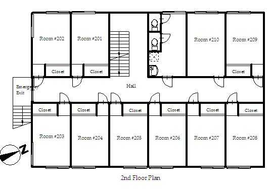 guesthouse sharehouse プレミア宮崎台 floorplan2