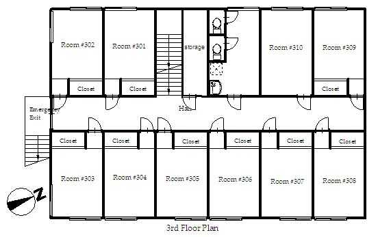 guesthouse sharehouse プレミア宮崎台 floorplan3