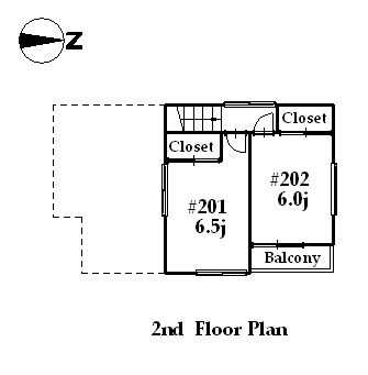 guesthouse sharehouse カフェROSE TOKYO floorplan2