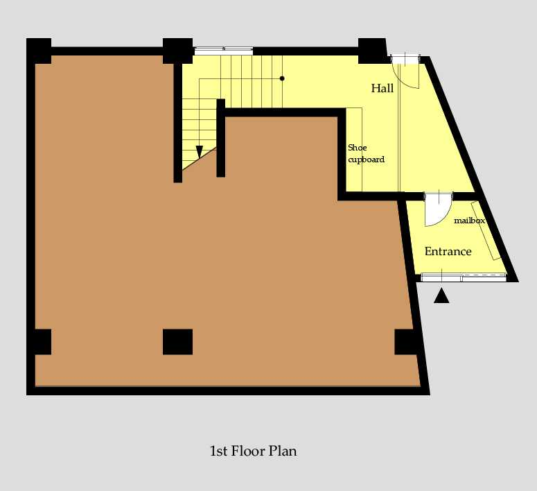 guesthouse sharehouse OAKHOUSE新宿City View floorplan1