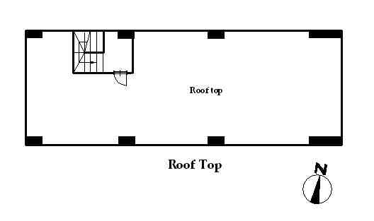 guesthouse sharehouse フローラ桜新町 floorplan3