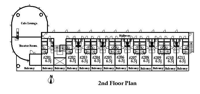 guesthouse sharehouse オークマンション横浜 floorplan2