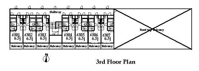 guesthouse sharehouse オークマンション横浜 floorplan3