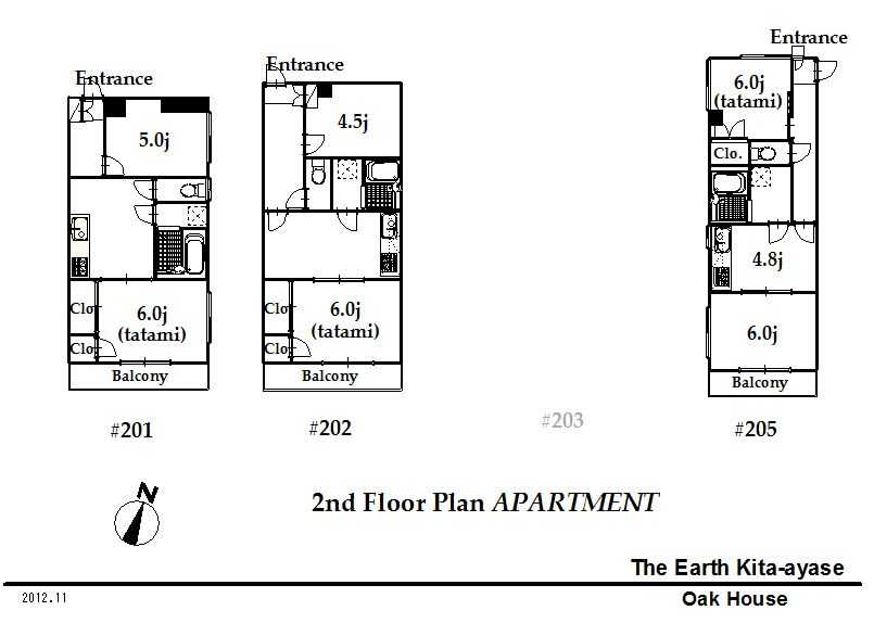 guesthouse sharehouse The Earth北綾瀬 floorplan3
