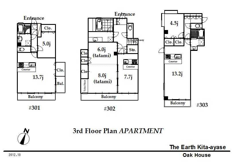 guesthouse sharehouse The Earth北綾瀬 floorplan4