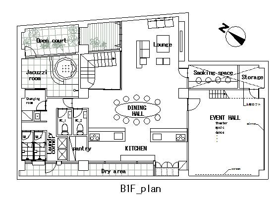 guesthouse sharehouse COMPARTIR SHINJUKU floorplan1