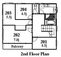 guesthouse sharehouse 立川レトロ館 floorplan2